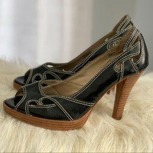 Chinese Laundry black heels size 7M